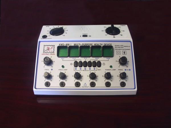 Great Wall Brand KWD-808I: Multifunction Stimulator - 6 channels(Plastic Jack)