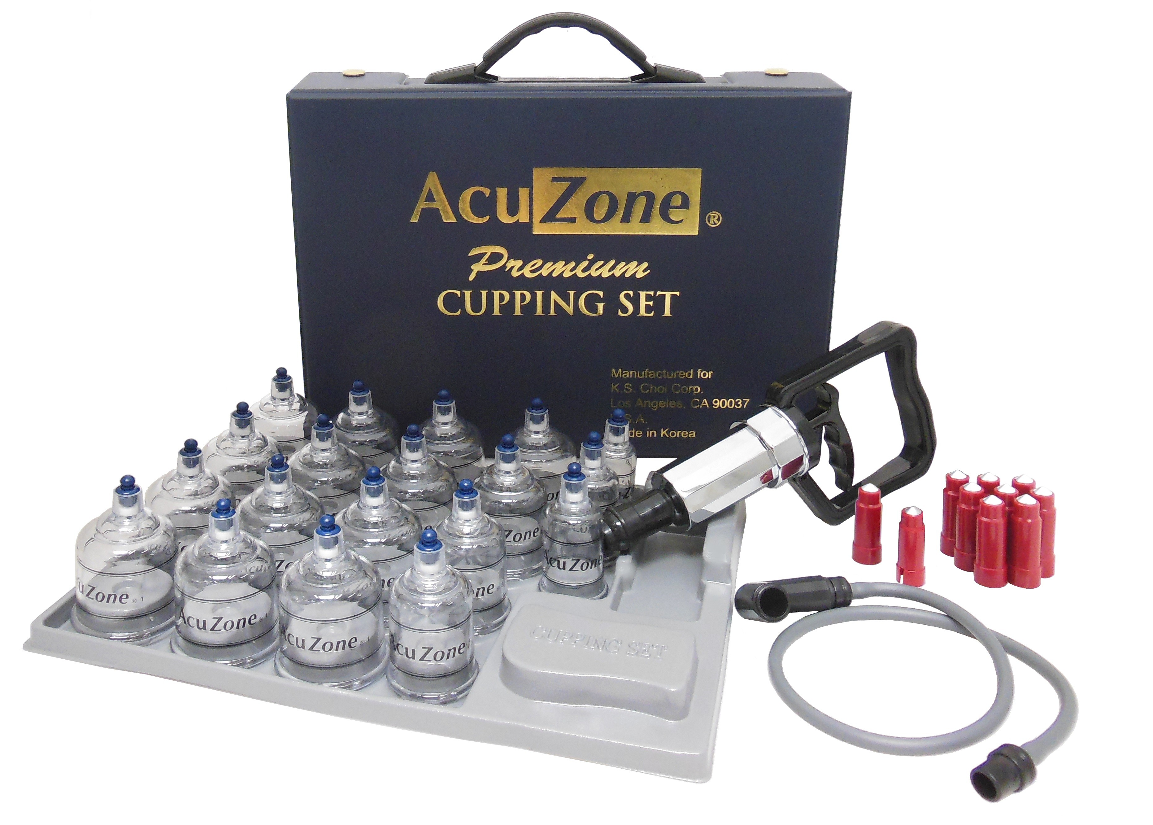 Premium Quality Cupping Set W 19 Cups Includes The