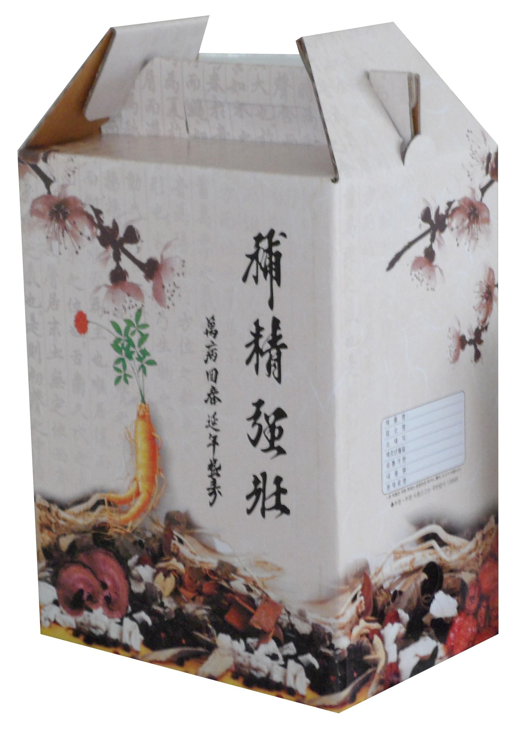 Herb Carrying Box Ginseng 한약매화 1 00 Each