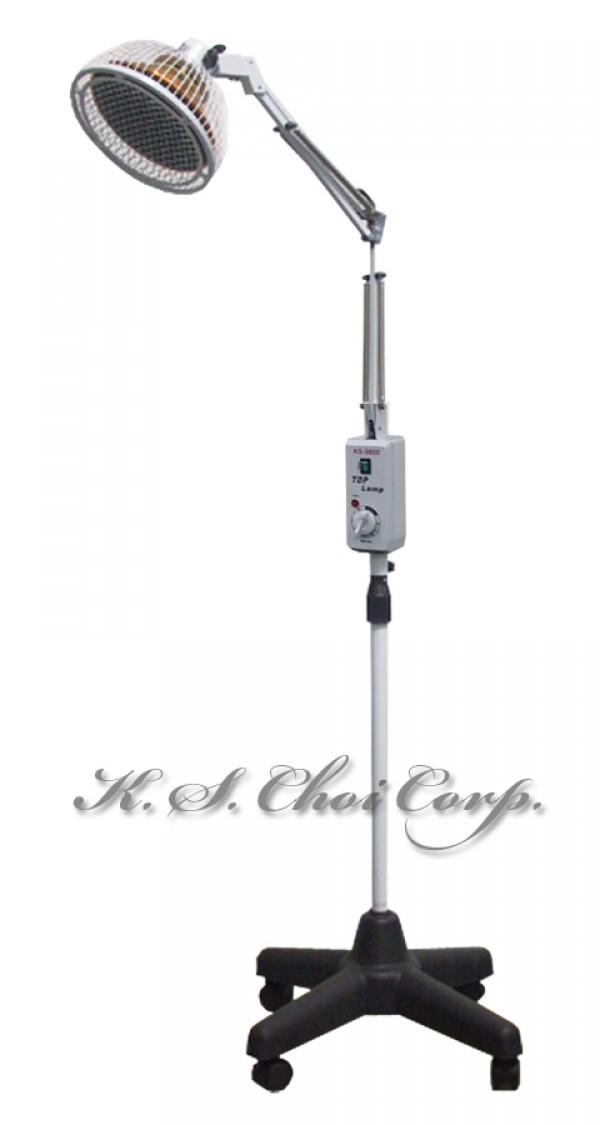 Elegant  21% TDP Infrared Mineral Heat Lamp Set *KS 9800 * With Wheel Stand *Floor
