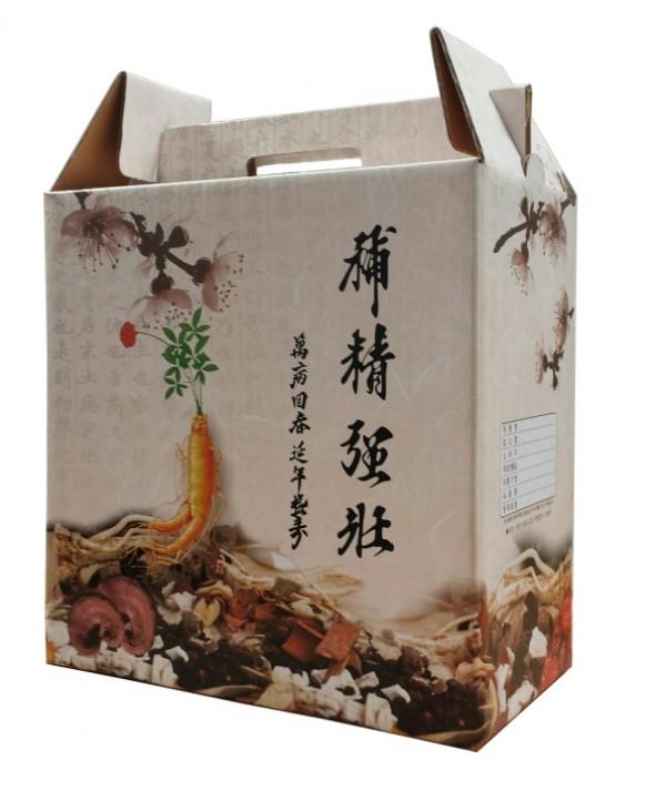 Herb Carrying Box - Ginseng(한약매화) $1.00 each
