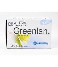 Greenlan Lancets (200 pcs / Box)