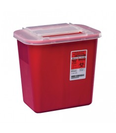 Sharps Container, 8 Quart(=2 Gallons)