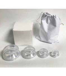 Acuzone Premium Silicone Cupping Set (4PC)