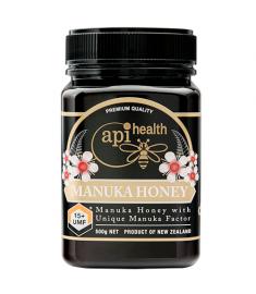 Manuka Honey: UMF 15+ - 500 Grams(1.1 lb) By API Health