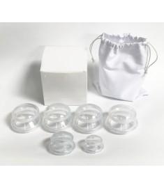 Acuzone Premium Silicone Cupping Set (6PC)