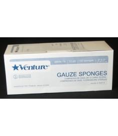 """12-ply Sterile 1's gauze pads, 2"""" x 2"""" (TIDI 908112)"""