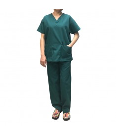 Unisex V Neck Scrub Top