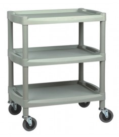PLASTIC Utility Cart  - GRAY