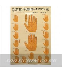 Koryo  14 Meridian Hand Chart