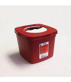 Sharps Container, 2 Quart(=1/2 Gallon)