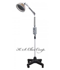 TDP Infrared Mineral Heat Lamp Set *KS-9800 * With wheel stand *Floor Model* (Replaceable/Detachable Head)