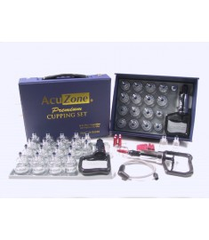 Premium Quality Cupping Set w/ 19 Cups, *INCLUDES the Extension Tube( A $3.00 Value)
