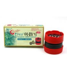 Charcoal Moxa + J Moxa Device SET