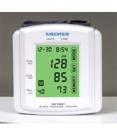 MD-900 Meditec Touch Screen Wrist Blood Pressure Monitor