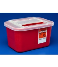 Sharps Container, 4 Quart(=1 Gallon)